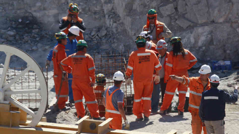 chile mine rescue workers