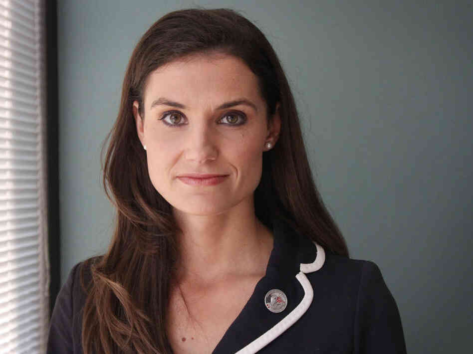 Krystal Ball, Democratic candidate for Congress in Virginia.