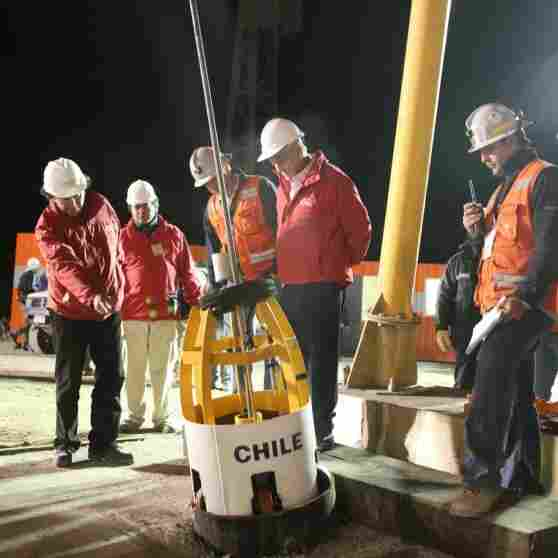 Rescuers Pull Last Trapped Chilean Miner To Surface