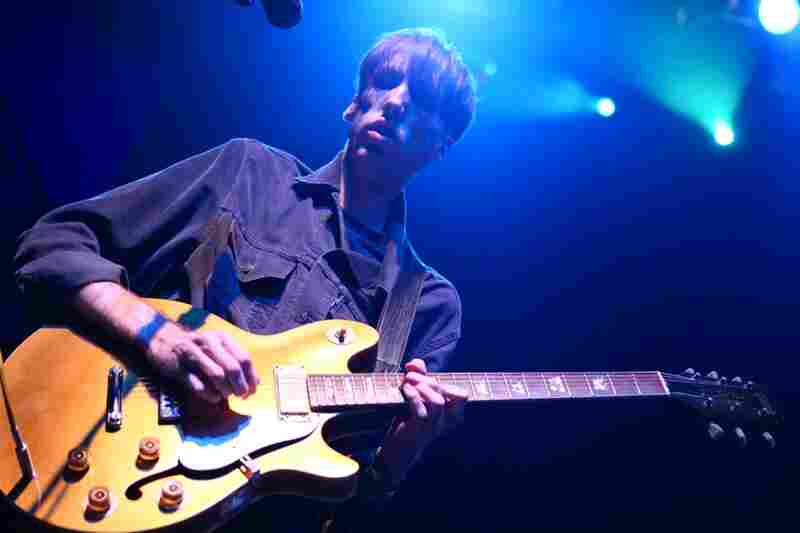 Deerhunter performing live at the 9:30 Club in Washington, D.C. Oct. 12, 2010.