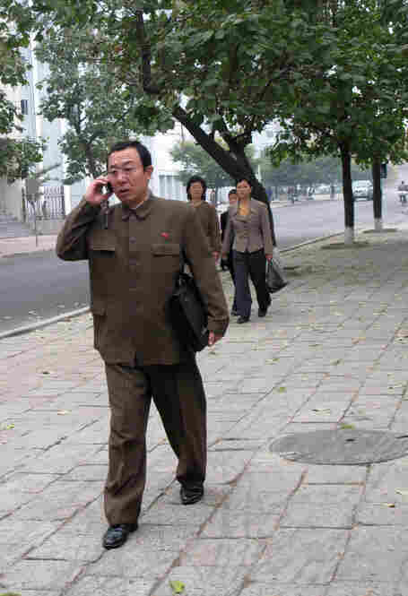 The Egyptian company Orascom boasts of having 200,000 subscribers to its North Korean mobile phone network, which was set up less than two years ago.