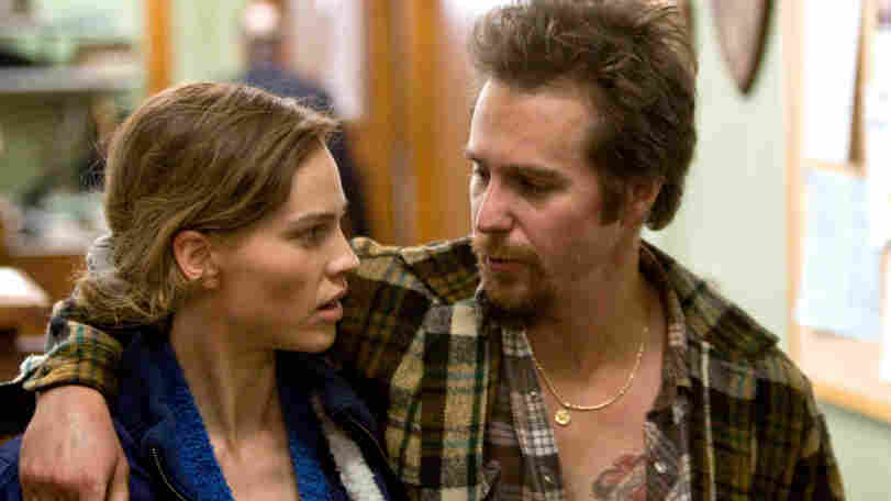 Hilary Swank and Sam Rockwell