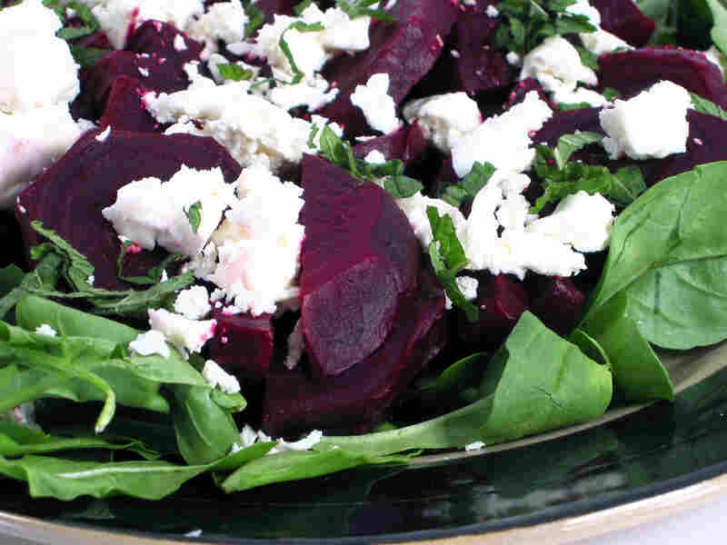 Pickled Beets With Feta