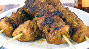 Pinchos Morunos (Pork Kebabs)