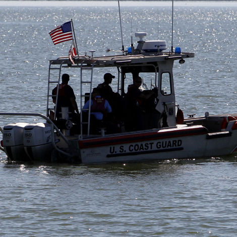 coast guard falcon lake