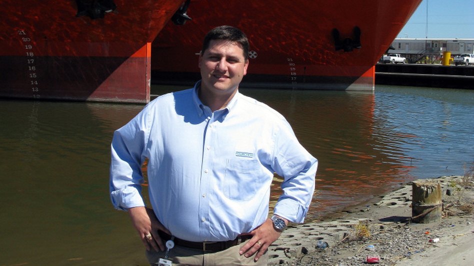 Chett Chiasson is the director of Port Fourchon, about 100 miles south of New Orleans. He says companies have moved out much of their equipment from the port.