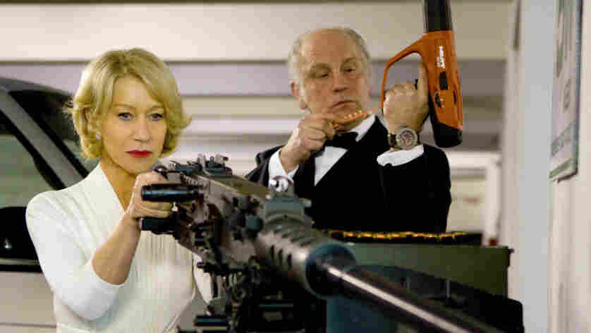 Helen Mirren and John Malkovich
