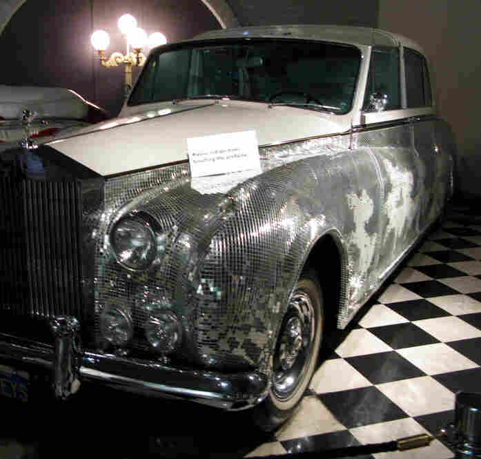 This Rolls Royce Limousine model is reportedly one of seven models made with a retractable landau top. Liberace used it onstage in the 1970s at the Las Vegas Hilton, and in the 1980s at Radio City Music Hall.