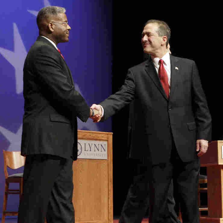 Allen West, Rep. Ron Klein; Florida congressional candidates.