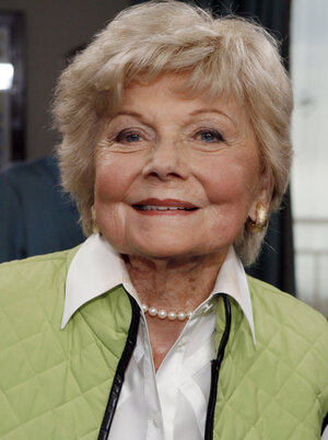Actress Barbara Billingsley, seen in Santa Monica, Calif., in 2007, died Saturday at 94.