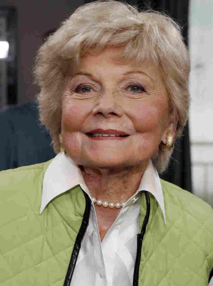 Actress Barbara Billingsley, seen in Santa Monica, Calif., in 2007, died Saturday at 94.