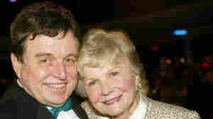 TV Land Awards 2003; Barbara Billingsley and Jerry Mathers.