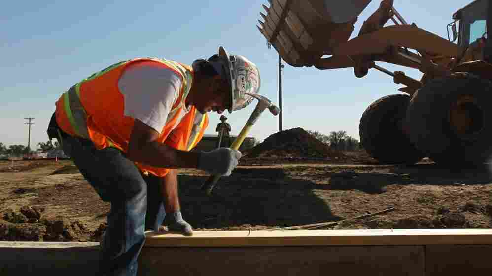 A Colo. construction site funded by federal stimulus money