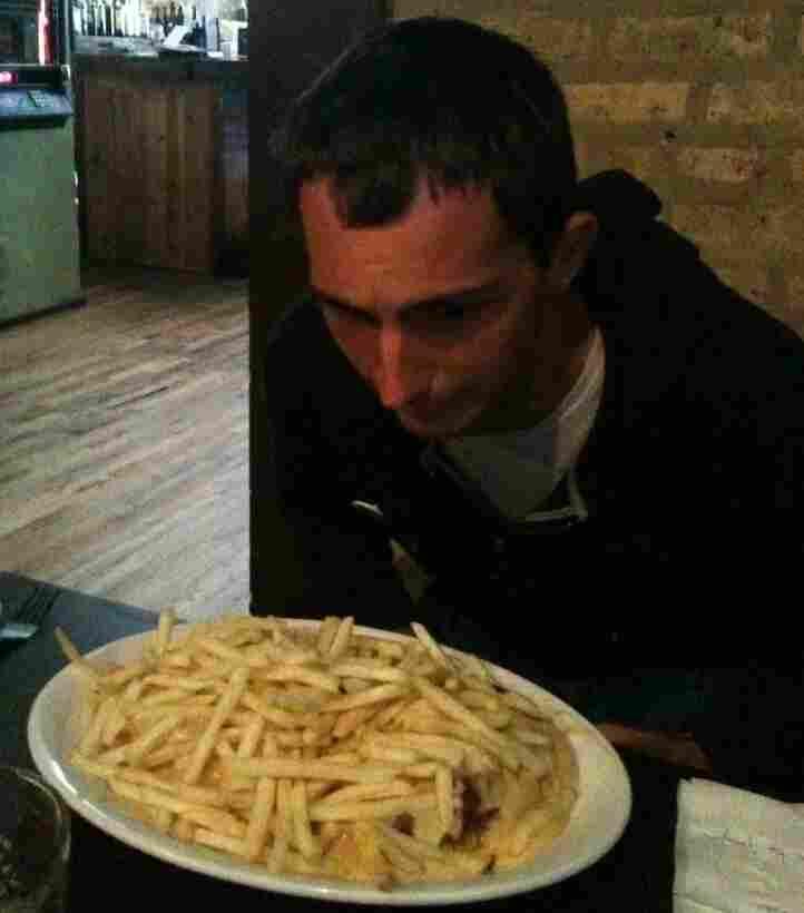 Ian fears the sandwich.
