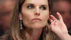 Maria Shriver participates in a Senate Special Aging hearing about Alzheimer's disease.