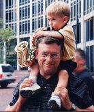 Mark Vonnegut and his son, Mark Oliver