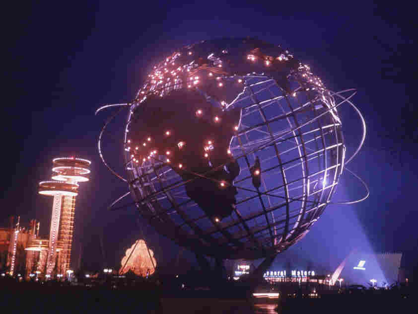 Unisphere At The World's Fair In New York, 1964.
