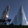 The Crystal Cathedral in Garden Grove, Calif.