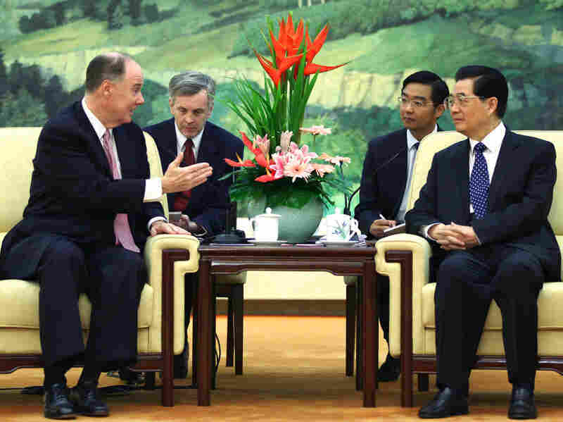 Tom Donilon meets with Hu Jintao