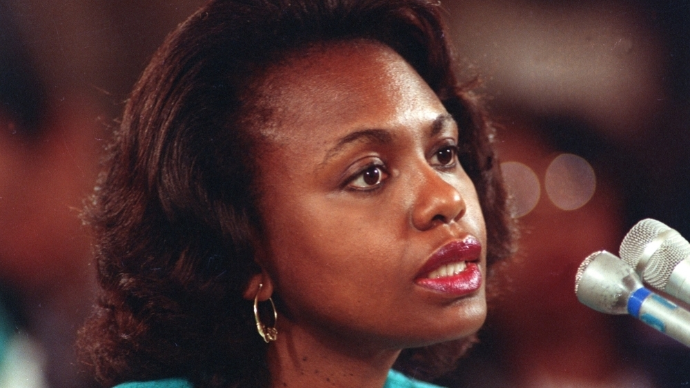 "anita hill Capsule reviews of ""anita hill,'' ""tailspin,'' ""debating sexual correctness,'' and ""be fierce''."
