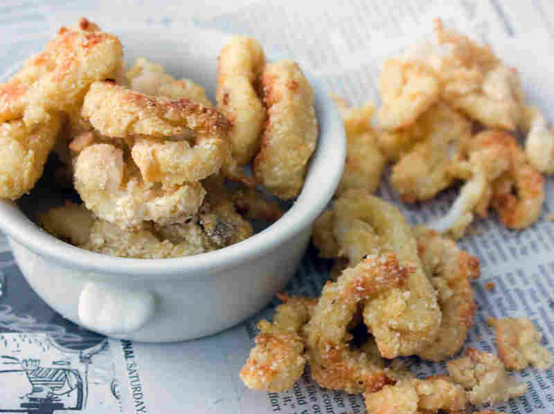 Oven-Fried Squid
