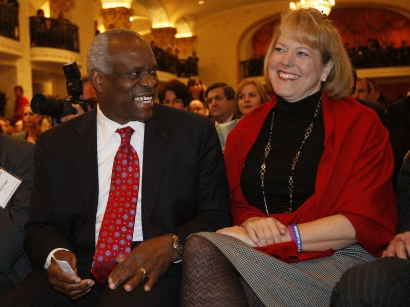 Clarence Thomas Wife In Spotlight After Phone Call Npr