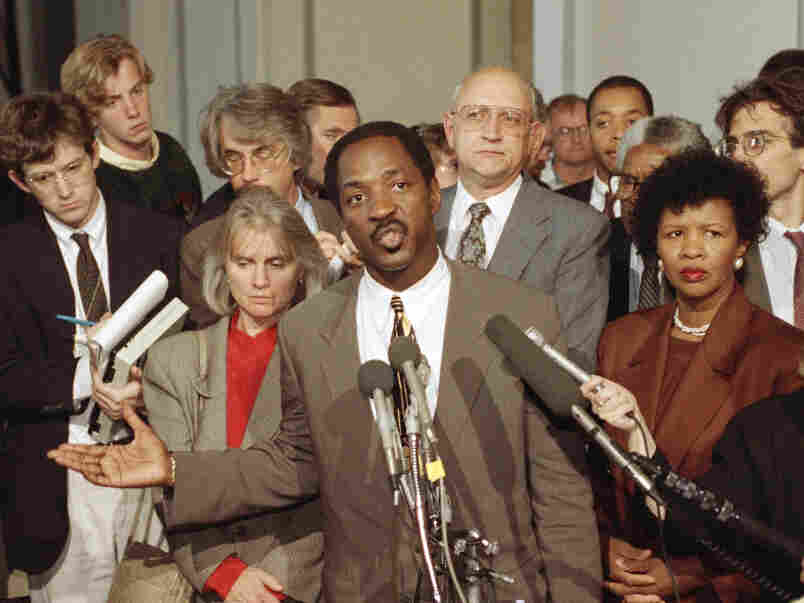 """Charles Ogletree says he was """"shocked"""" to hear Ginny Thomas contacted Anita Hill."""