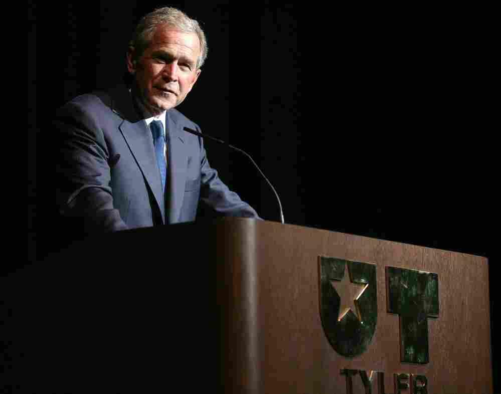 George Bush at UT Tyler