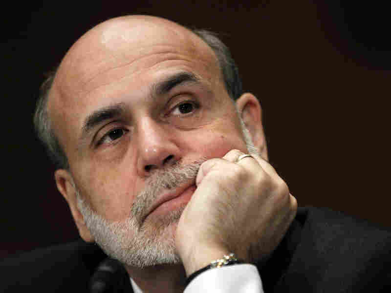 Federal Reserve Chairman Ben Bernanke appears on Capitol Hill in September.