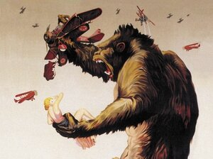 Poster for 1933 'King Kong' movie