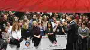 In Hard Economic Times, Obama Woos Female Voters