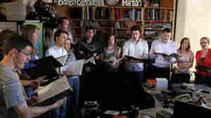 Stile Antico perform a Tiny Desk Concert at the NPR Music offices.
