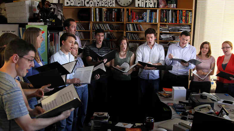 Stile Antico perform a Tiny Desk