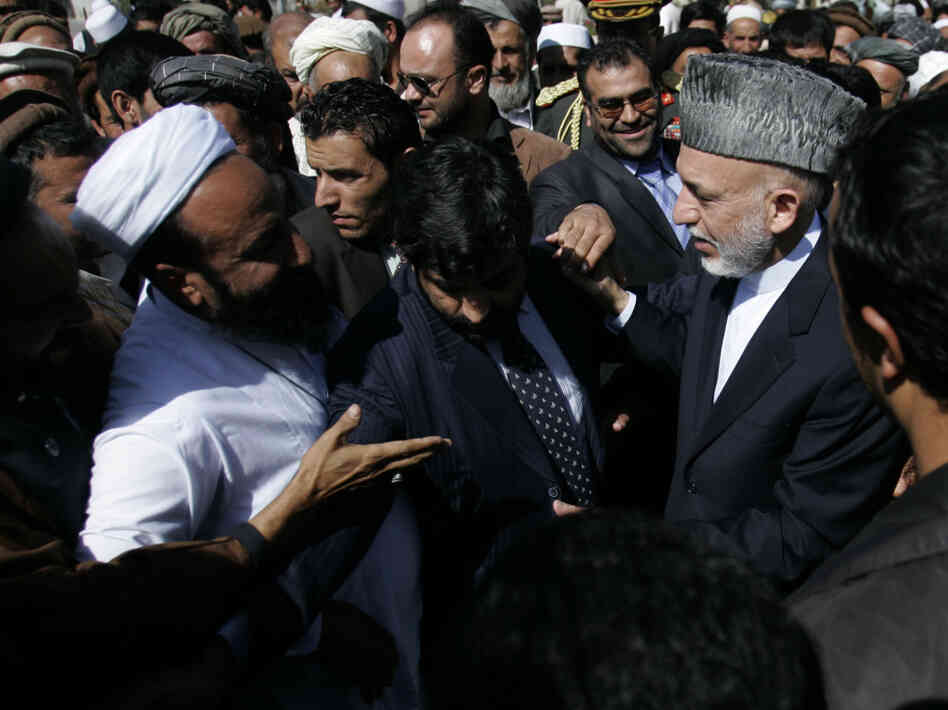 Hamid Karzai Attends Rural Development Conference