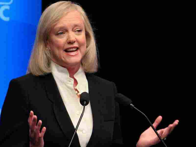 Meg Whitman, GOP candidate for governor in California, during Oct. 12 debate in San Rafael.