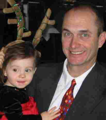 Marine Corps Col. Todd Hixson and his daughter. Hixson committed suicide in 2009.