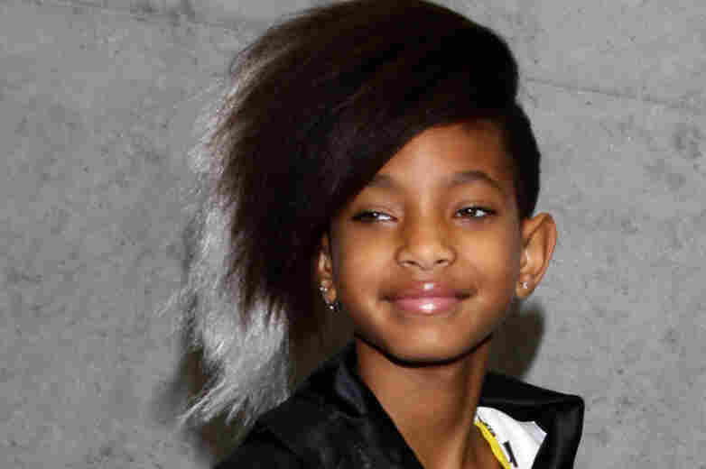 Willow Smith is the daughter of actors Will and Jada Pinkett-Smith