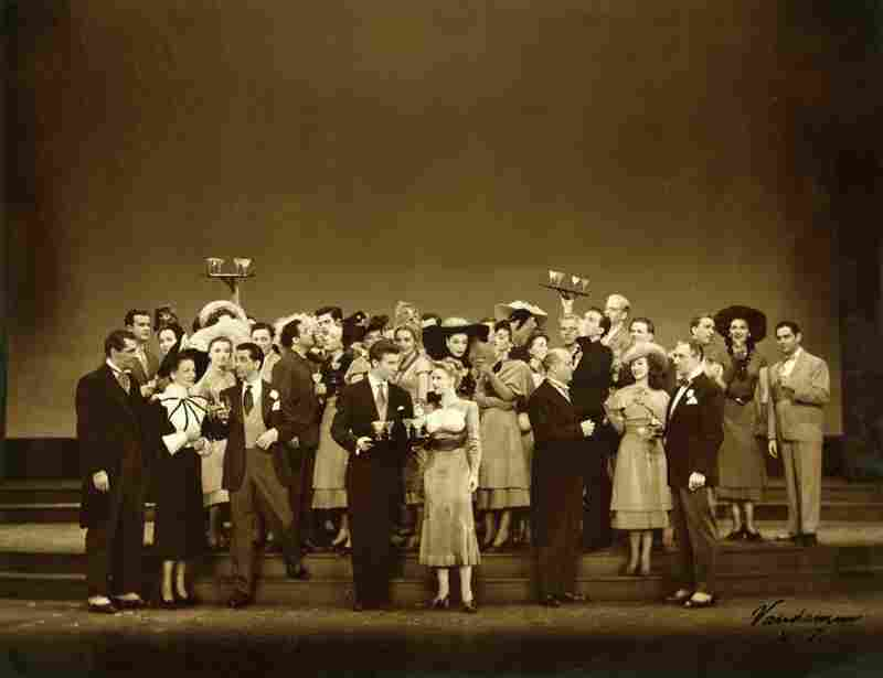 Cast of Rodgers and Hammerstein's Allegro, 1947.