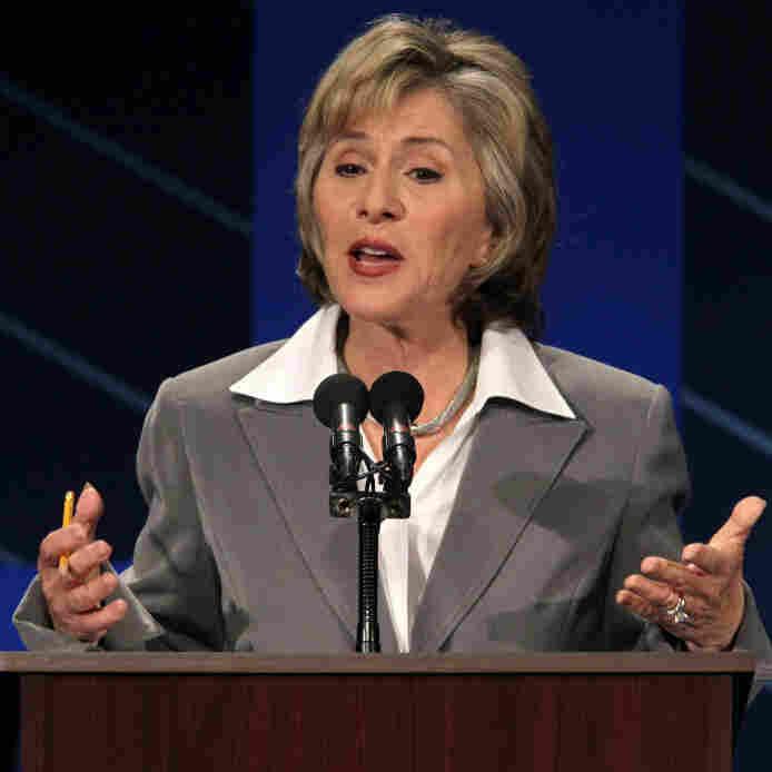 Sen. Barbara Boxer, D-CA, at a Sept. 1, 2010, debate.p