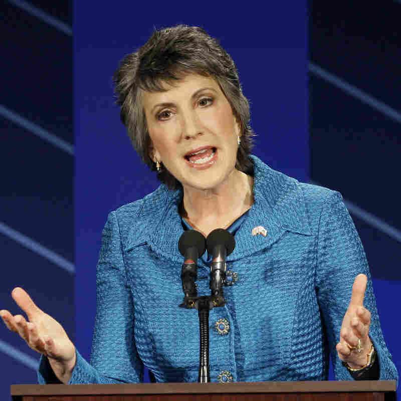 Carly Fiorina, GOP candidate for Senate in California, at a Sept. 1, 2010, debate.