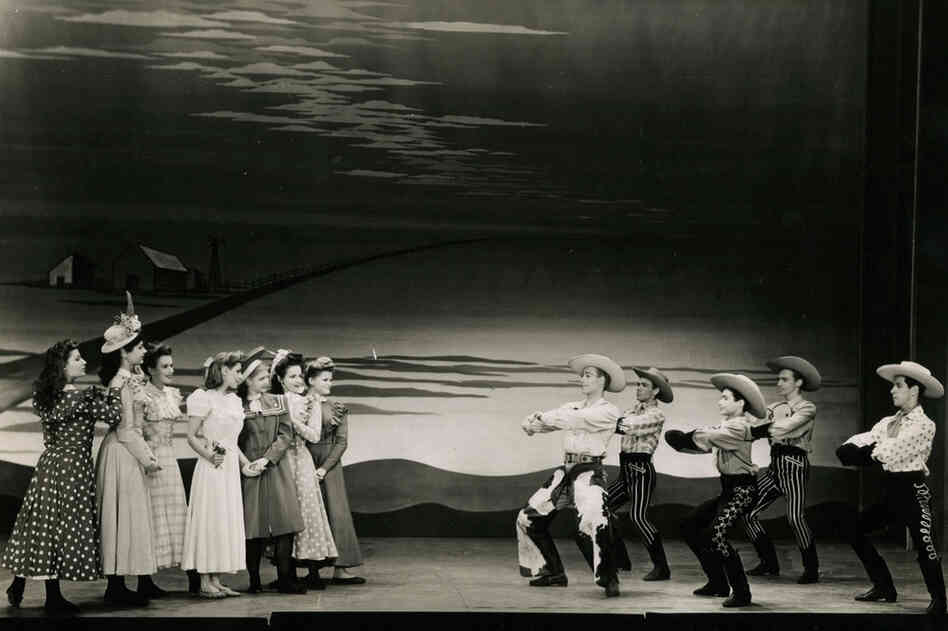 "Oklahoma! was the first play in which Oscar Hammerstein II collaborated with composer Richard Rodgers. The two would later produce numerous musicals under the venerable ""Rodgers & Hammerstein"" partnership."