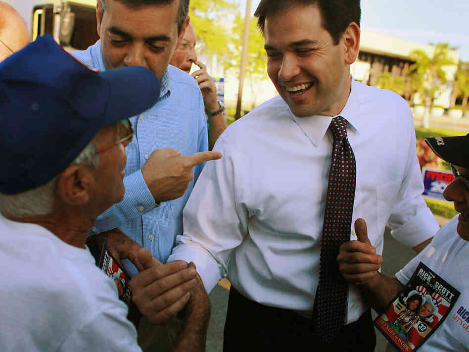 Marco Rubio is the frontrunner in Fla. Senate Race