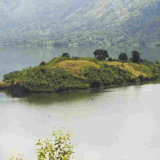 A view of the Artibonite Lake in Haiti