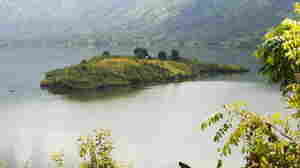 A view of the Artibonite Lake in Haiti