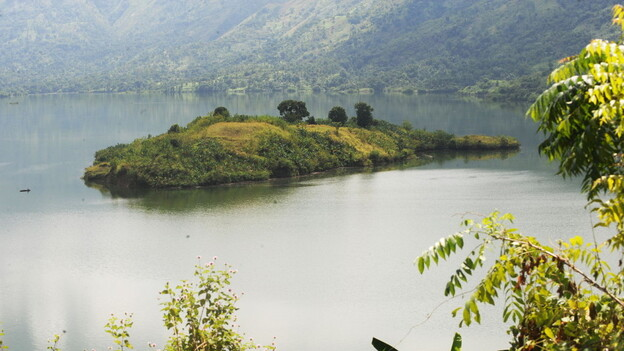 Artibonite Lake in Haiti has been infected with cholera after 50 years without a single case in the country. (AFP/Getty Images)