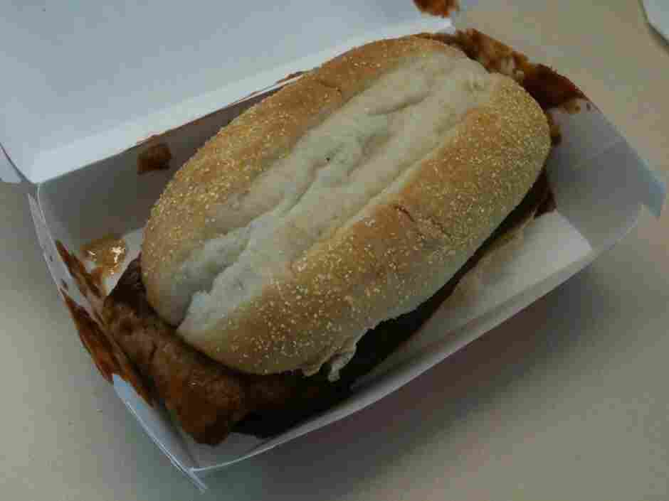 Photo of McRib.