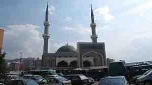 King Fahd mosque in Sarajevo.