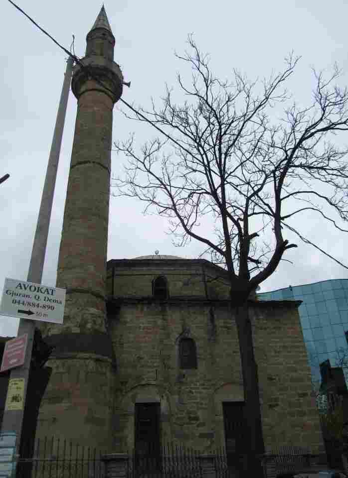 Ottoman-style mosque in Pristina, Kosovo.