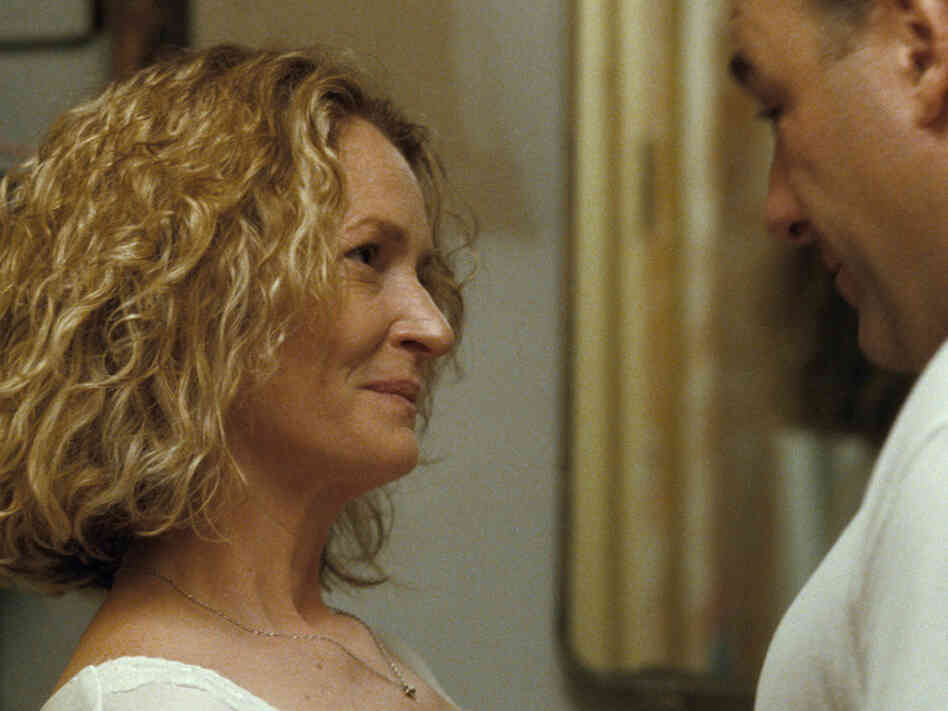 Melissa Leo and James Gandolfini