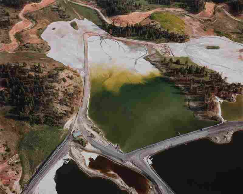 Waste ponds and evaporation ponds, 1984